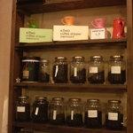 1367123 - 飾りではなくこの珈琲豆を注文の度挽いて点てるのです。