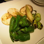 13670343 - 炭焼き野菜のおすすめ盛