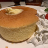 チェリー - 料理写真:ホットケーキ(ドリンク付)550円