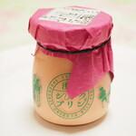 淺草シルクプリン - いちごプリン