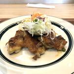 キママニ食堂 - 料理写真:鶏肉の田楽風