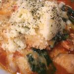太陽のトマト麺 - チーズもたっぷり ( ´θ`) やはり100円アップもコッチかな