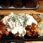 キッシーの鶏からあげ - チキン南蛮風唐揚げ定食