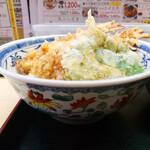 天ぷら てんちゃん - 丼の大きさ