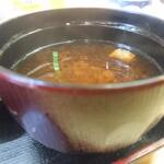 天ぷら てんちゃん - みそ汁