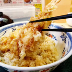 天ぷら てんちゃん - 大きな海老天