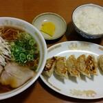 らんめん - 餃子セットA924円税込
