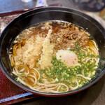 庄内庵 - 肉天うどん ¥1100
