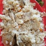 フルーツランド南国 - 松茸弁当