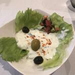 レストラン モロッコ - モロッコ風サラダ