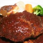 ウチョウテン - 料理写真:黒毛和牛のハンバーグ