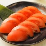 豚のまんま - トマトスライス