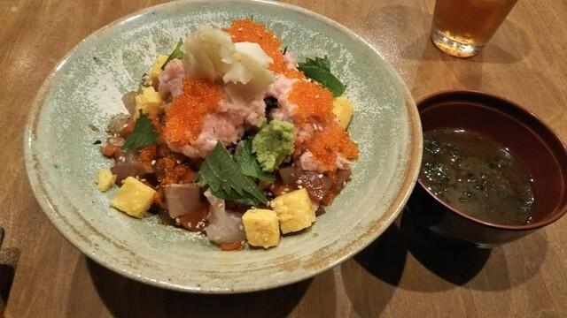 上野毛 魚光の料理の写真