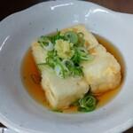二色 - 揚げ出し豆腐