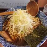 らうめん 麺坊 - ねぎラーメン 720円 大盛 0円