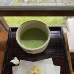 蘇山荘 - お抹茶セット