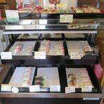 あんやの豆とお菓子 峰旬 - 料理写真:餅のケース