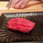 鮨 とかみ - 赤身ヅケ