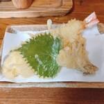 泉屋 - 天ぷら 半分