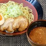 べらしお - 魚介白湯の味噌つけめん(ピリ辛)税込870円