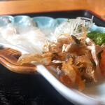 ふ久寅 - 料理写真:鱸刺し