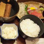 武馬 - お造りとおでん定食