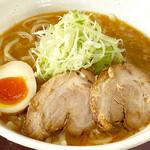 べらしお - 魚介白湯(味噌)そば税込830円