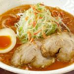 べらしお - 魚介白湯(海老の味噌)そば税込850円