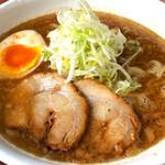 べらしお - 魚介白湯(醤油)そば税込830円