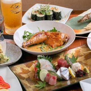 リピーター多数の4000円ポッキリコースや本格会席料理が自慢