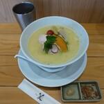 銀座 篝 - 鶏白湯SOBA(980円)