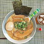 赤坂麺処 友 - 「芳醇あごだし醤油らーめん」