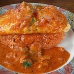 Cafe&Restaurant Sincerite - ズワイガニとエビのトマトクリームソース