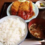 天ひろ - 料理写真:エビミックス定食 1