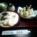 稲庭屋 - 天ざるつけめん(1250円)(2012/7)