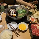 しゃぶ菜 - すき焼きと鯛出汁