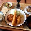 南アルプスプラザ - 料理写真:日替わり定食(この日はミックスフライ)¥750 (税込)