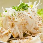京豆腐のサラダ