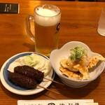 やぶ福 - ちょい飲み名物セット1000円税抜