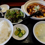 """王さん私家菜 - """"麻婆豆腐"""""""