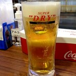 サバイサバイ タイ屋台 - 生ビール:280円+税