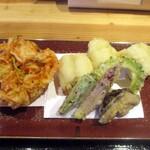 蕎麦といろり焼 創 - 旬の天ぷら