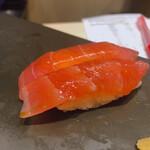 立ち食い鮨 鈴な凛 - 漬けマグロ125×2