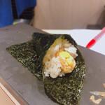 立ち食い鮨 鈴な凛 - 納豆巻  150