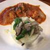 アイローネ - 料理写真:日替わりランチ(若鳥のトマト煮)