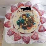 ラ・ブランシュ - いちごのショートケーキ7号サイズキャラプレート(鬼滅の刃)