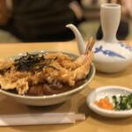 加辺屋 - 天ぷらそば¥1,200