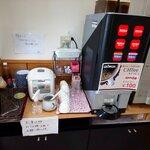 味処天神丸福 - 100円でコーヒー飲み放題