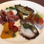 ズッカ - この日の真鯛のカルパッチョは素晴らしかった!!