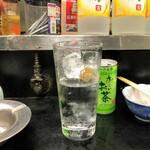 酒の高橋 - ナカお代わり(250円)